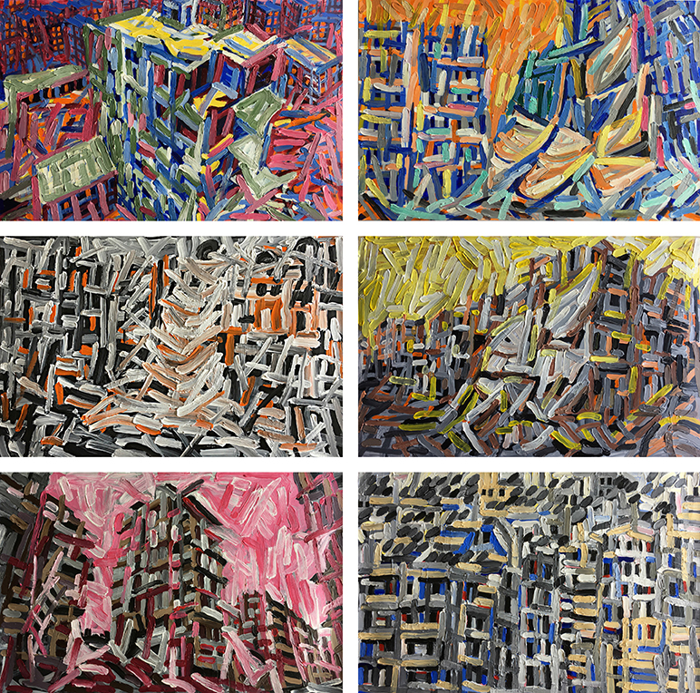 Aleppo-Urban-Landscapes-No9_6 paintings_35x35_web