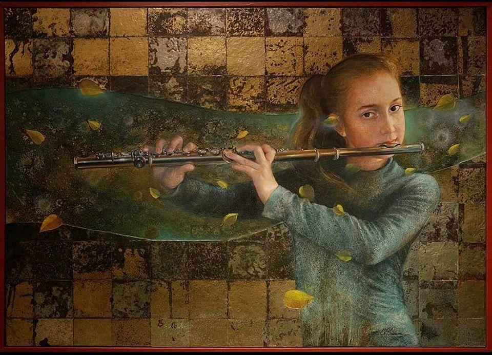 Badawi-Nimat-Girl Clarinet-100-60-2016