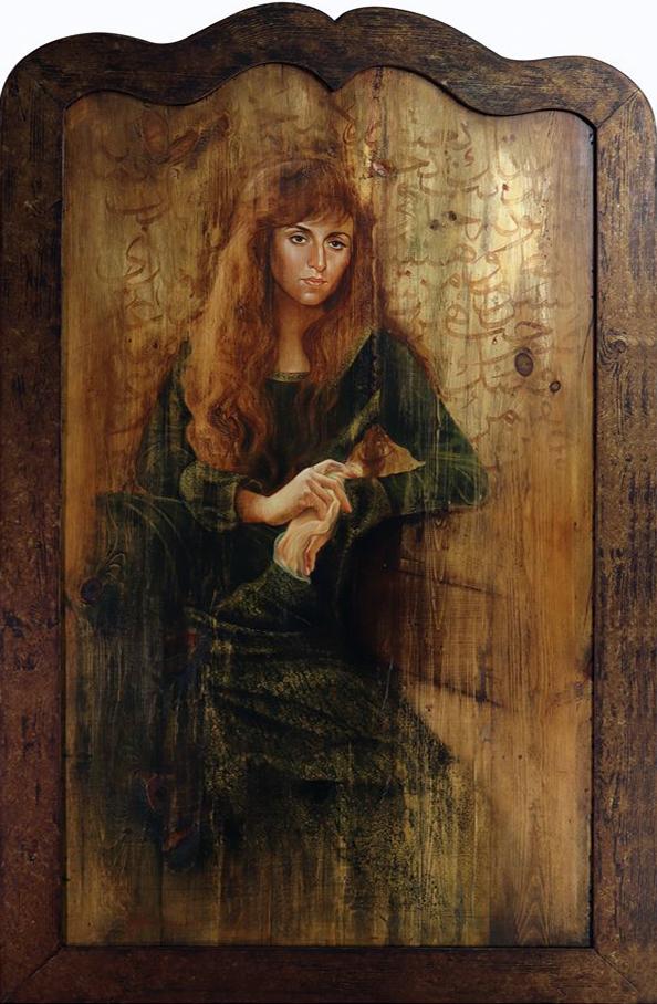 Badawi-Young Fairuz-wood-50x100-2017