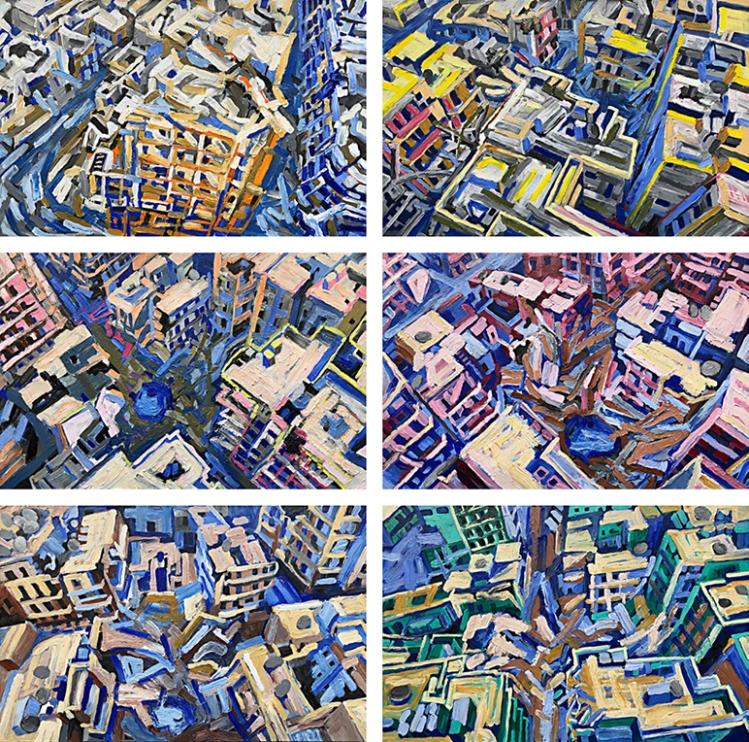 Aleppo-Urban-Landscapes-No14_6 BirdsEyView_35x35_web