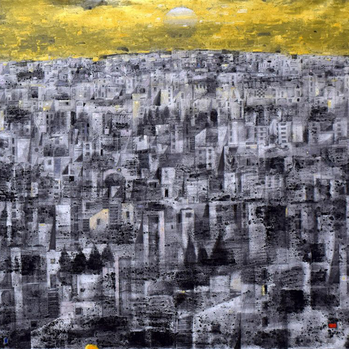 Sabour-New Day-EasternUrbanism-acrylic-graphite-124x57in_18_square