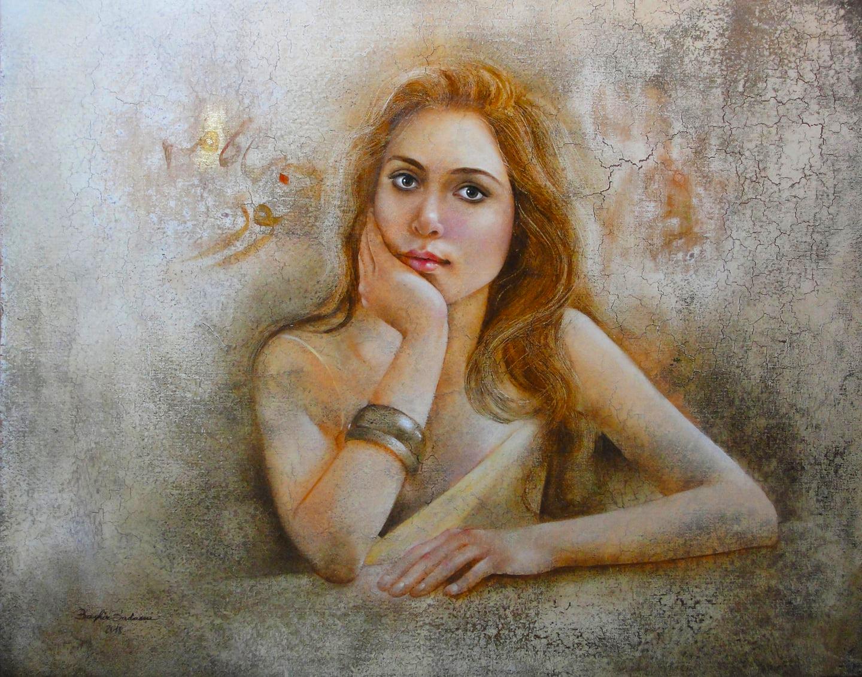 Badawi-Bachir-Nour-oil-100x80-18