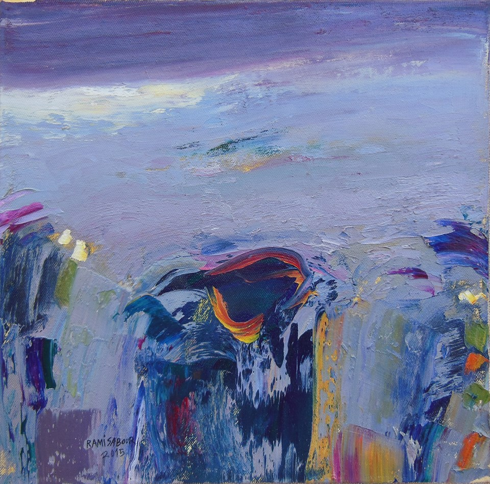 Rami Sabour-Blue-Symphony-No1-28x28in_15_web
