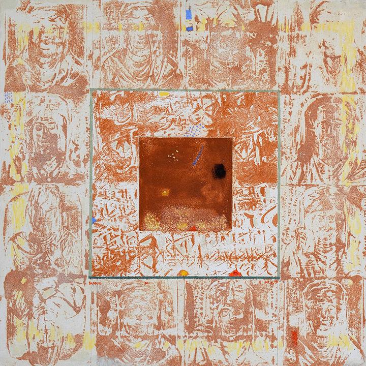 Sabour-Walls of Palmyra-No6-mixed media_31×31in_18_web